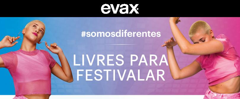 Livres para festivalar #EVAXSOMOSDIFERENTES